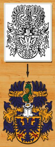 Wappen digitalisieren