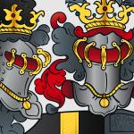Vektorisiertes Wappen: Detail 1