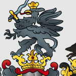 Digitalisiertes Wappen: Detail 2