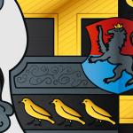 Vektorisiertes Wappen: Detail 3