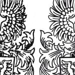 Wappen digitalisieren: Vergleich Vorlage - Endergebnis