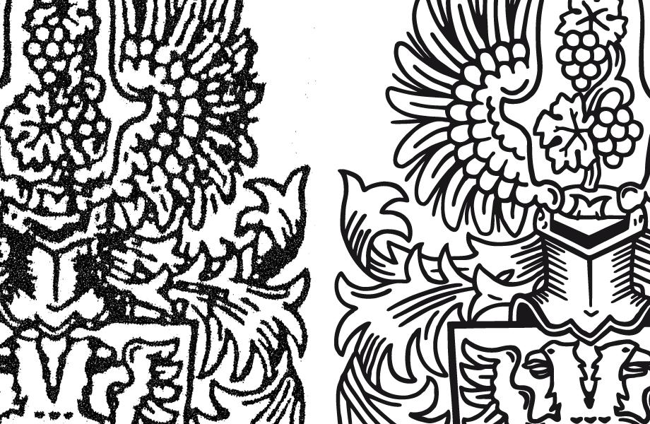 Wappen digitalisieren: Vergleich Vorlage - Endergebnis - Fabian ...